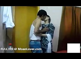 Sexy Indian Couple Hardcore Kissing MoanLover.com